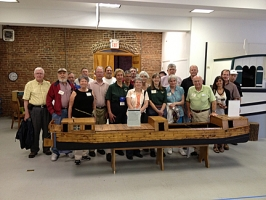 SMA members visit C&O Canal Museum in Williamsport