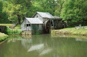 Mabry Mill, VA-031-006, Meadows of Dan, VA