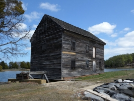 Poplar Grove Tidal Mill, VA-057-001, Mathews, VA