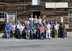 Mid-Atlantic Chapter members at Anderson Mill