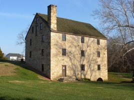 Washingtons Gristmill, VA-029-005, Mt. Vernon, VA