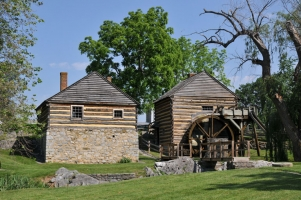 McCormicks Mill, VA-008-012, Steeles Tavern, VA